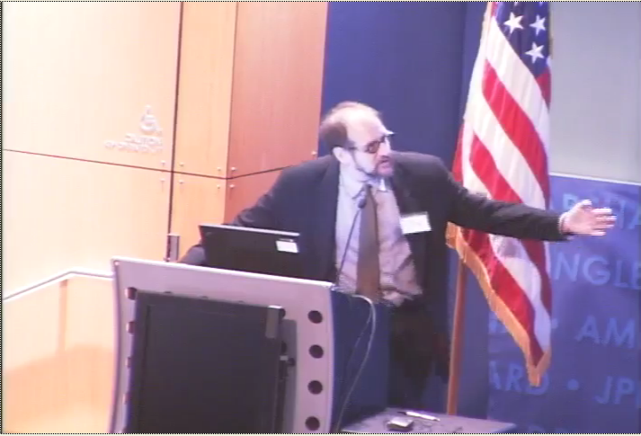 David Speaking at the Comparative Climatology Symposium. Click image for video.