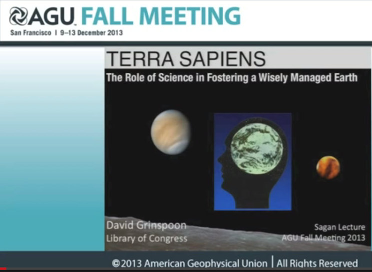 Terra Sapiens: The Role of Science in Fostering a Wisely Managed Earth.