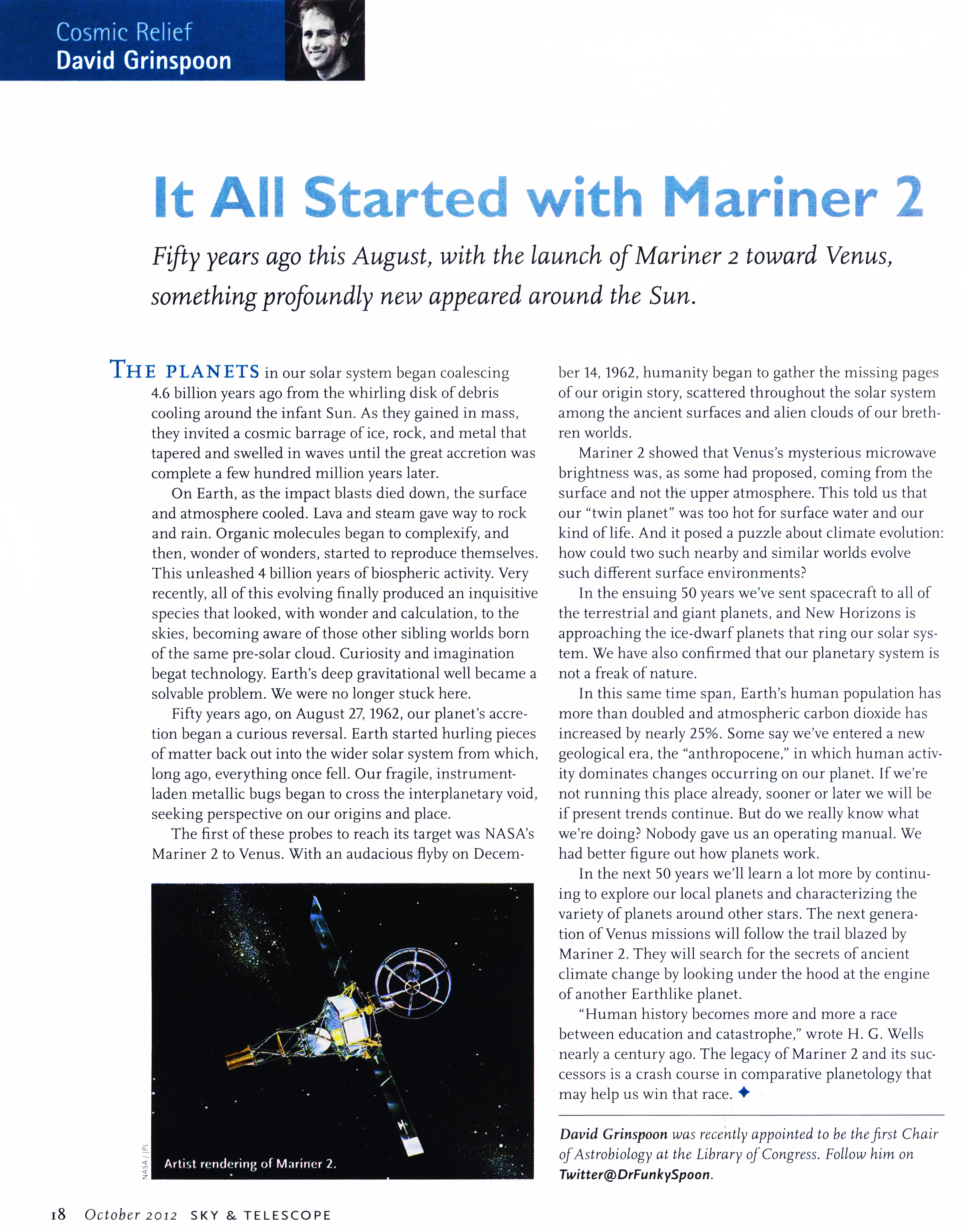 It All Started with Mariner 2